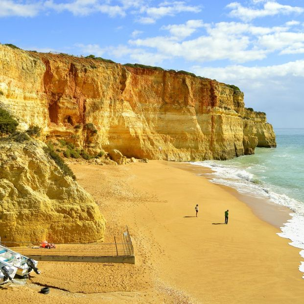 Imagen de Benagil, en el Algarve (Bigstock)
