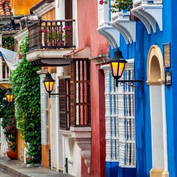 Vista de Cartagena de Indias