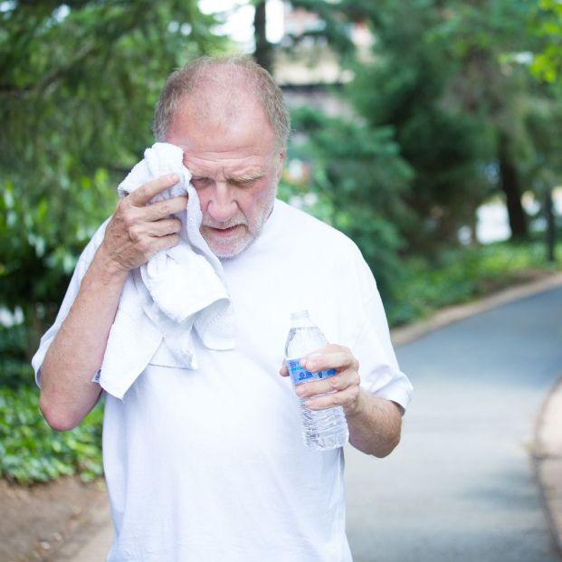 Síntomas de la deshidratación en las personas mayores