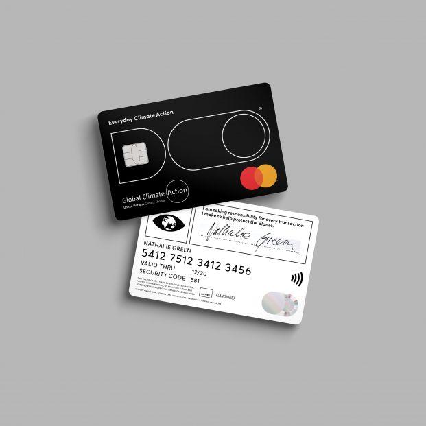 La tarjeta de crédito que controla lo que has contaminado