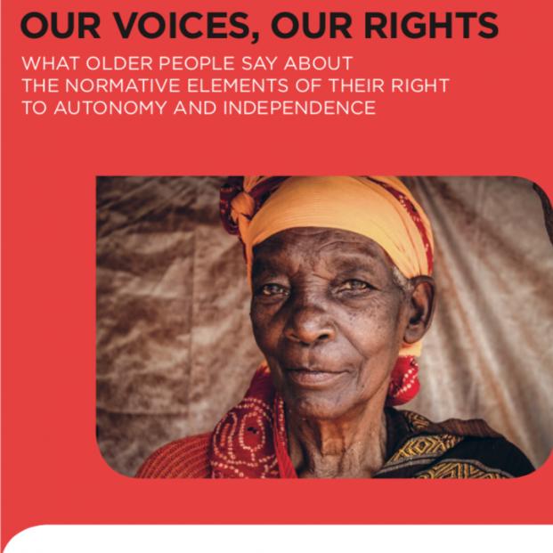'Nuestra voces, nuestros derechos'