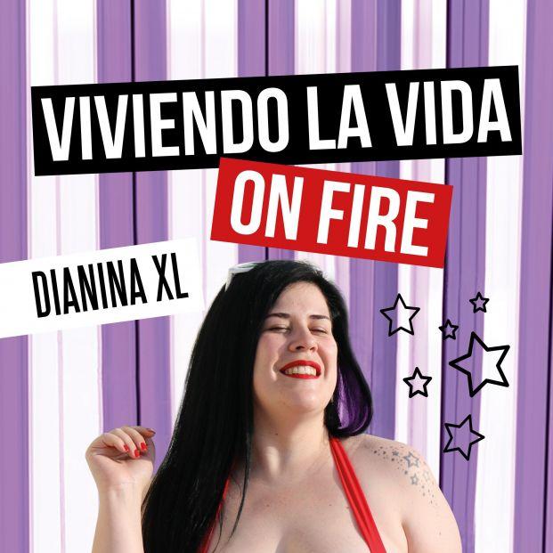 Dianina XL invita a liberarse de los complejos en 'Viviendo la vida on fire'