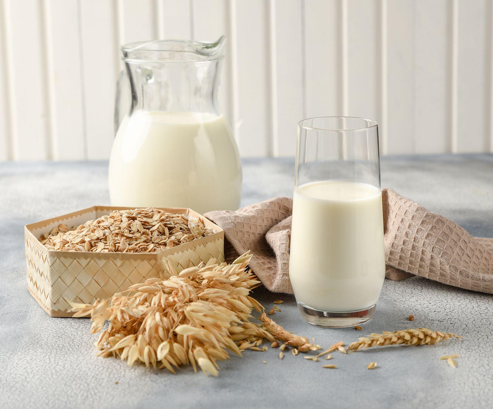 Es bueno sustituir la leche por bebidas vegetales