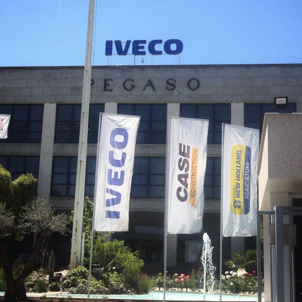 Sede de la empresa Iveco en Madrid donde trabajaba la mujer que se quitó la vida después de la difusión entre los empleados de un vídeo suyo de carácter sexual