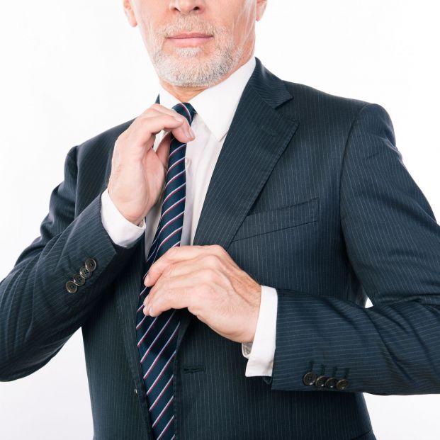 Hombre de negocios mayor.