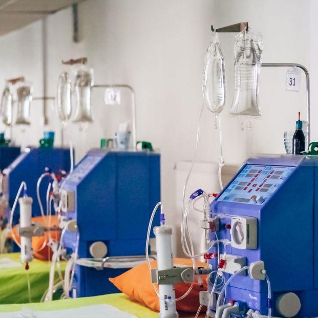 Cómo se mide funcionamiento riñónMáquina de diálisis
