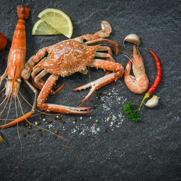 Los mariscos se pueden consumir dentro de una dieta delta