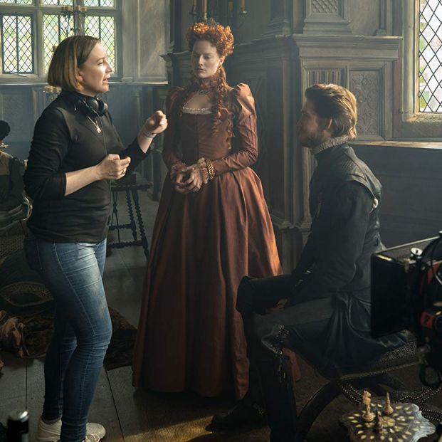 Preparativos de una escena de 'María, Reina de Escocia' (FOCUS FEATURES)
