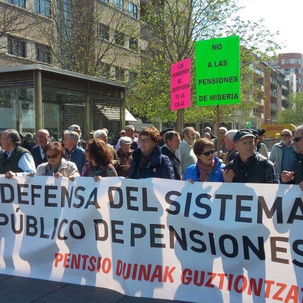 Defensa de las pensiones