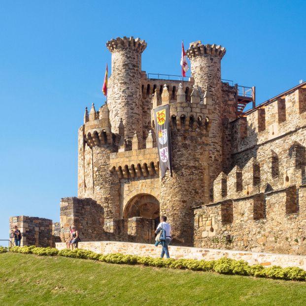 Castillo de Los templarios (Ponferrada, León)