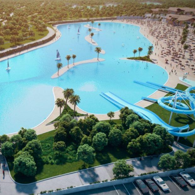 Así será la playa artificial más grande de Europa