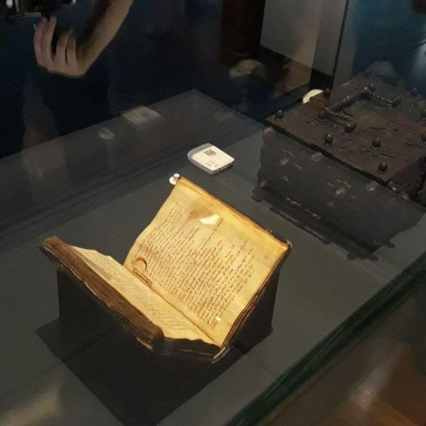 El códice del 'Cantar de mío Cid' se expone por primera vez en la Biblioteca Nacional