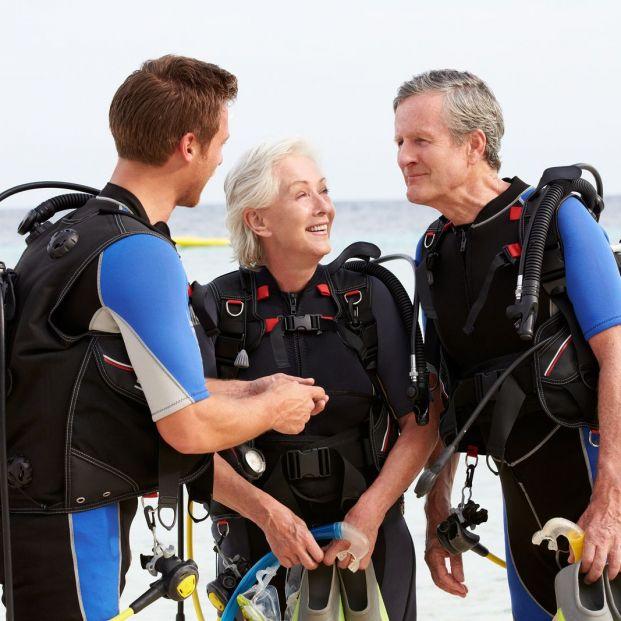 Deportes acuáticos ideales para las personas mayores