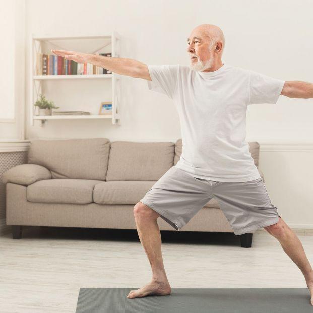 Estiramientos para ganar elasticidad (Bigstock)