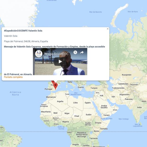 Nace Expedición COCEMFE, el mapa de la inclusión en el mundo