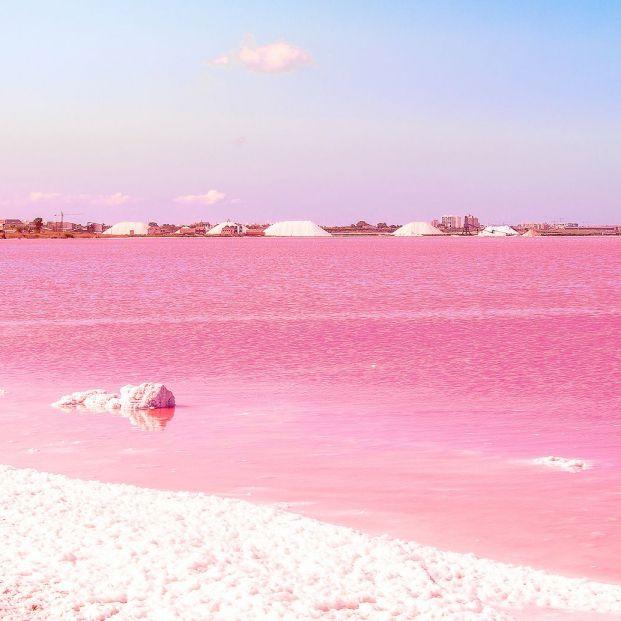 La laguna rosa, un espectáculo visual en Torrevieja