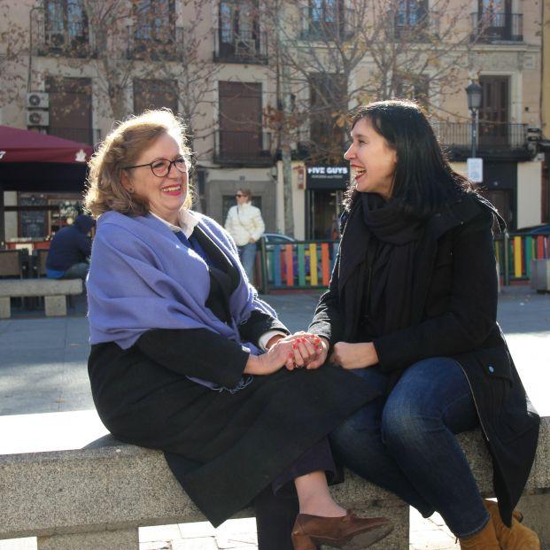 Mónica e Isabel se conocieron gracias a la fundación Grandes Amigos.