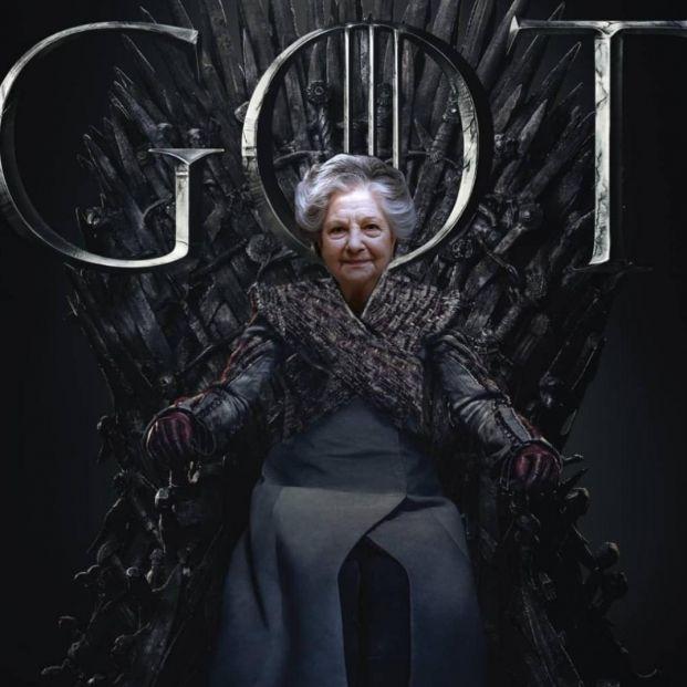 'Abuela de dragones': Guadalupe, la mujer de 84 años que ocupa el trono de hierro de Instagram