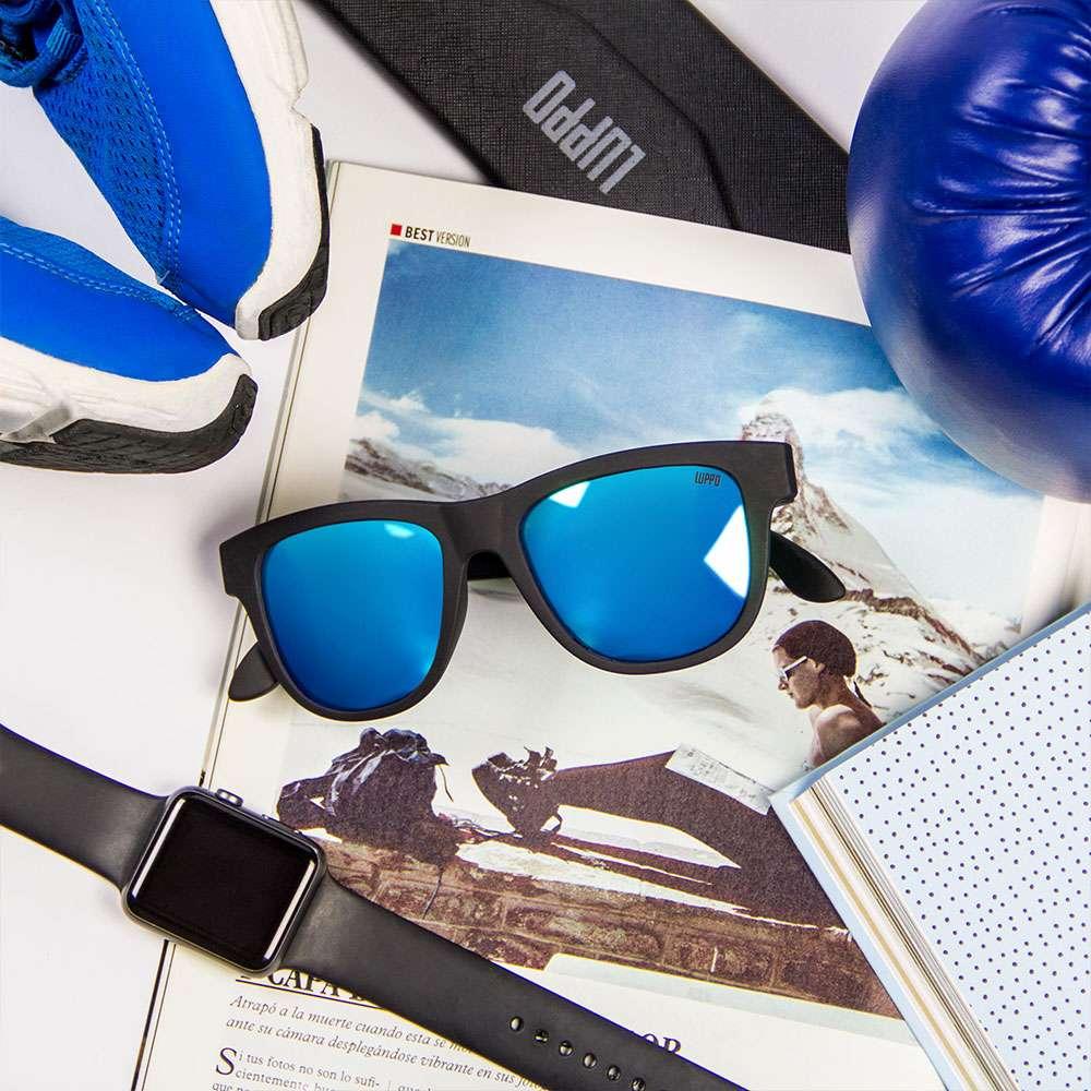 15bd7cc2fb Estas gafas de sol incluyen un revolucionario sistema de audio con  tecnología de conducción ósea