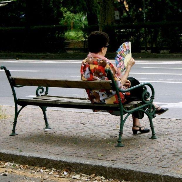 Ola de calor y personas mayores