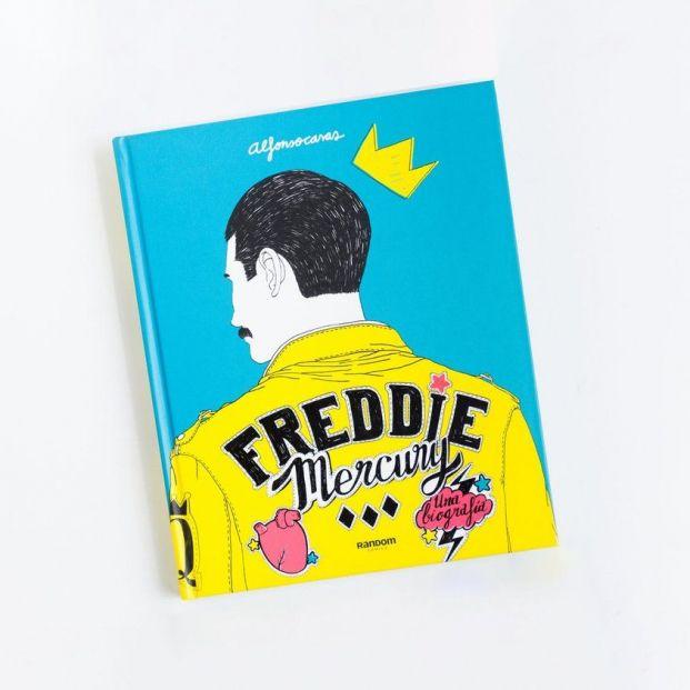 Biografías más vendidas: 'Freddie Mercury'. Alfonso Casas (web Alfonso Casas)