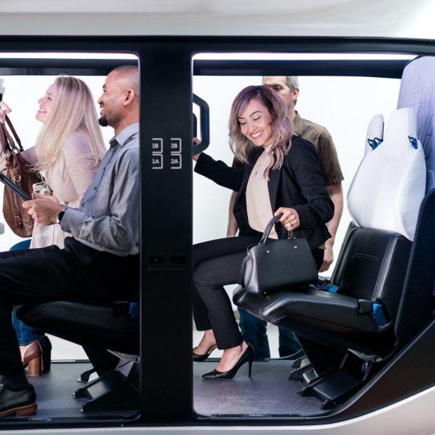 Así serán los taxis voladores de Uber