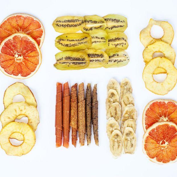 Fruta deshidratada y fruta liofilizada, en qué se diferencian