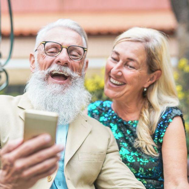 Las redes sociales también son para mayores