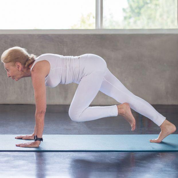 El ejercicio que imita las posturas de los animales, el 'animal flow'