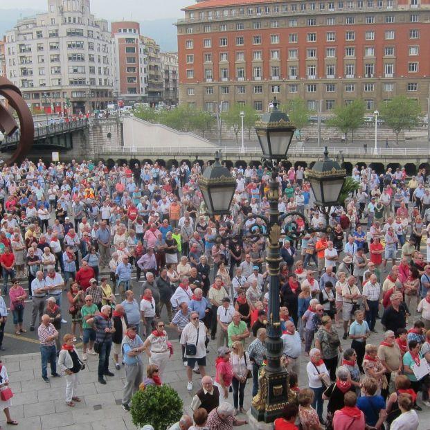 """Los pensionistas vascos seguirán con las movilizaciones en verano y avanzan un """"otoño caliente"""""""