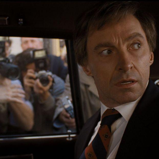 Hugh Jackman en 'El Candidato' (Sony Pictures Entertainment)