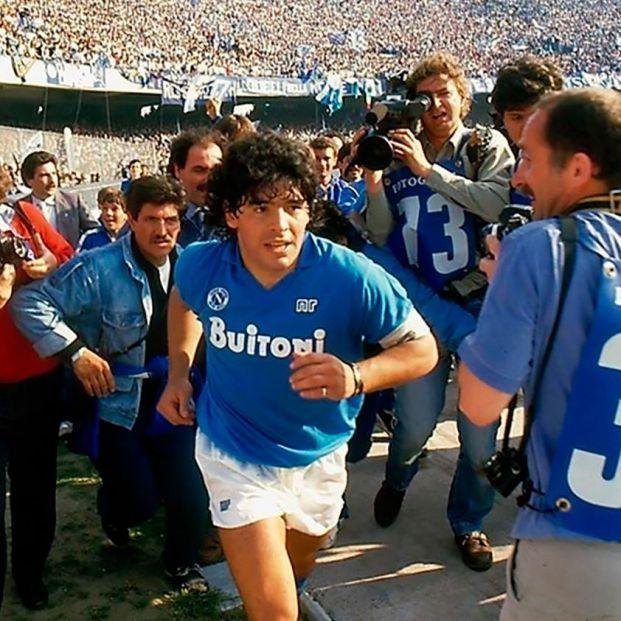 Imagen del documental Diego Maradona de Asaf Kapadia
