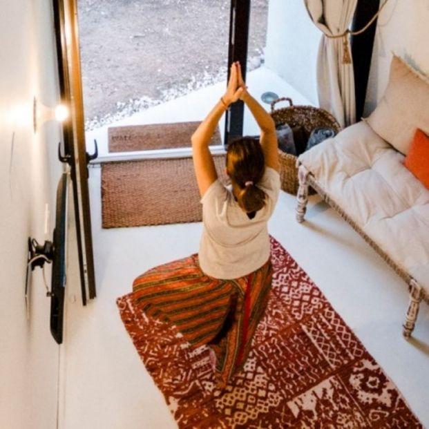 Casas rurales donde el yoga forma parte de sus relajantes servicios