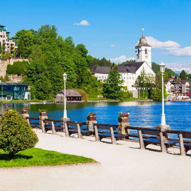 Descubrir la región de los lagos de Salzburgo, en bicicleta