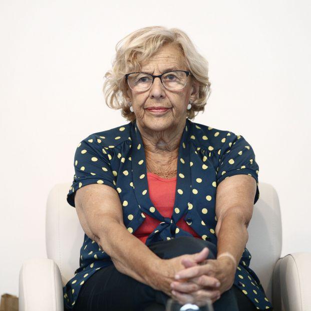 La exalcaldesa de Madrid Manuela Carmena
