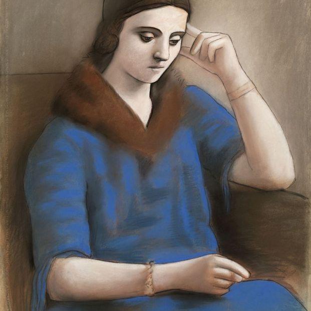 Exposición de Olga Picasso en el Museo Picasso