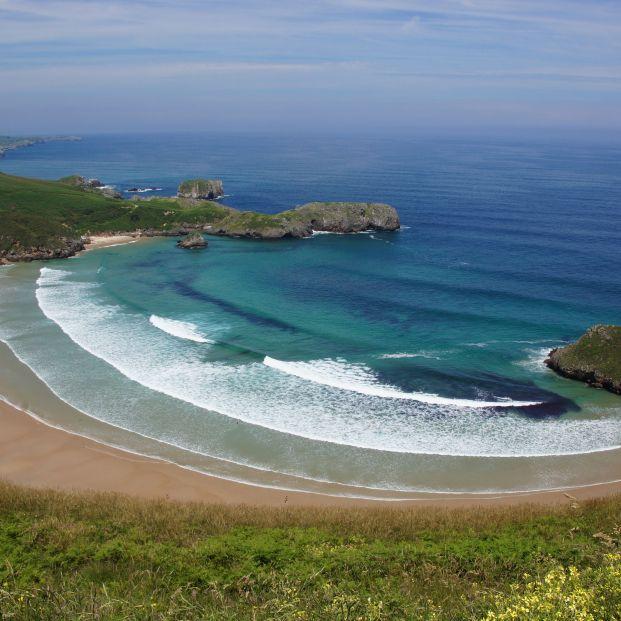 Playa de Torimbia (Asturias)