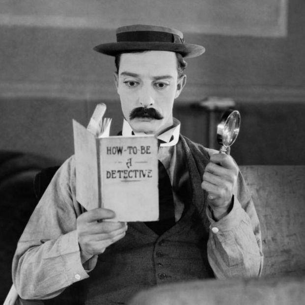 Buster Keaton en El Gran Buster