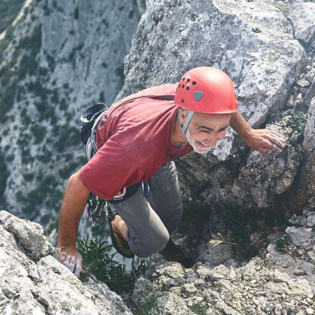 La escalada en personas mayores