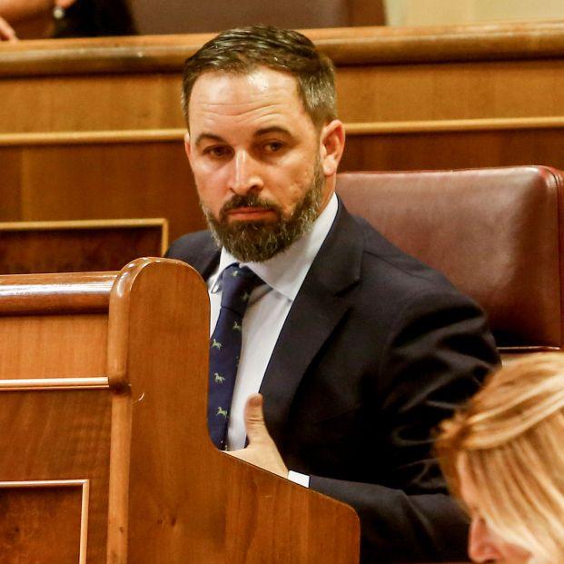 El presidente de Vox Santiago Abascal
