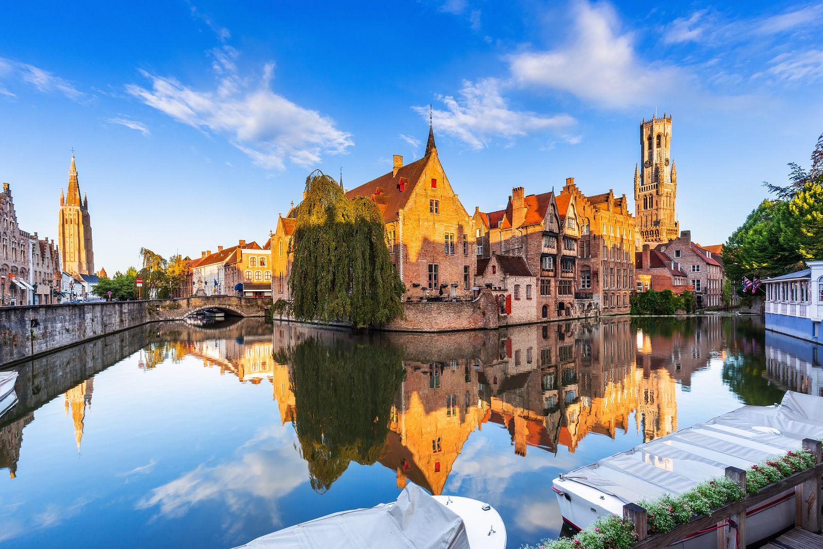 Déjate seducir por Brujas, la ciudad más conocida de Bélgica