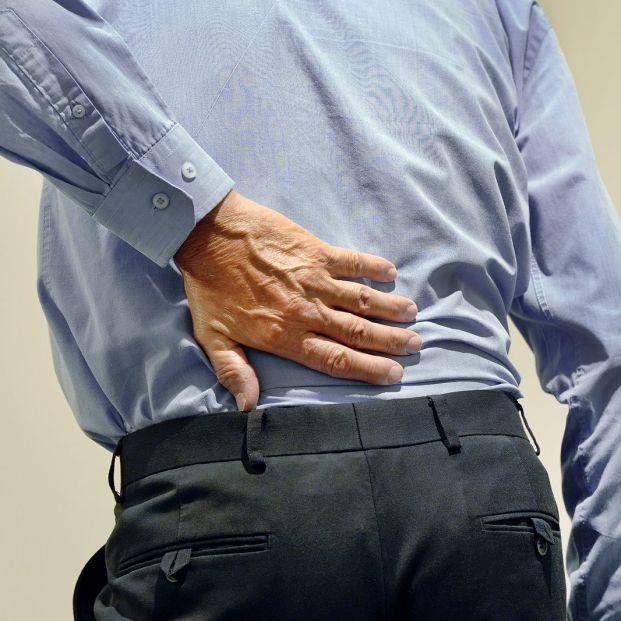 Persona con dolor de cadera