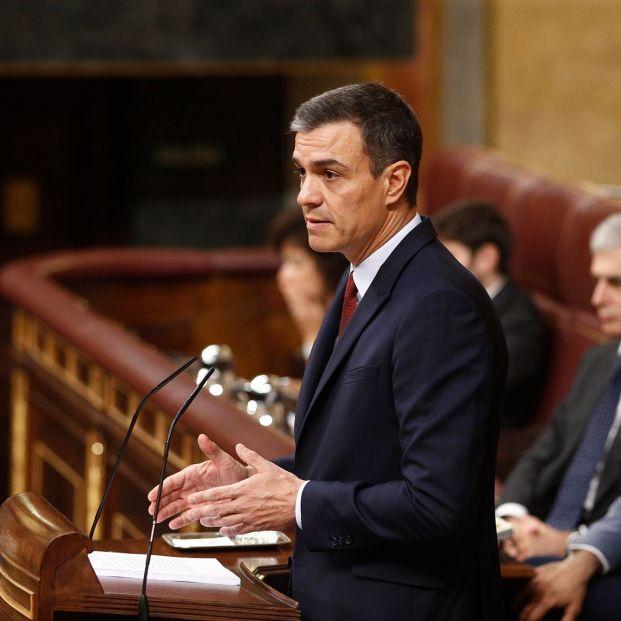 Pedro Sanchez sesion investidura