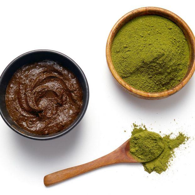 La henna es uno de los tintes naturales (bigstock)