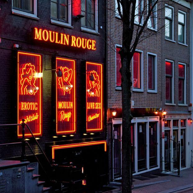 El Barrio Rojo, de Ámsterdam