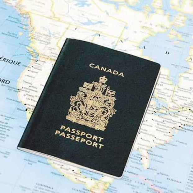 Pasaporte canadiense, uno de los requisitos para estar exento de necesitar eTA