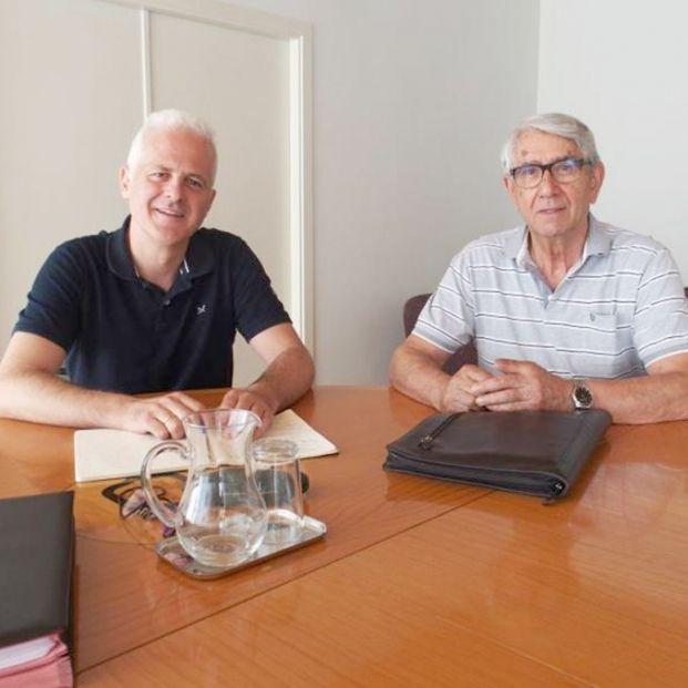 Saturnino Álvarez se reúne con el Ayuntamiento de Logroño para tratar los problemas de los mayores