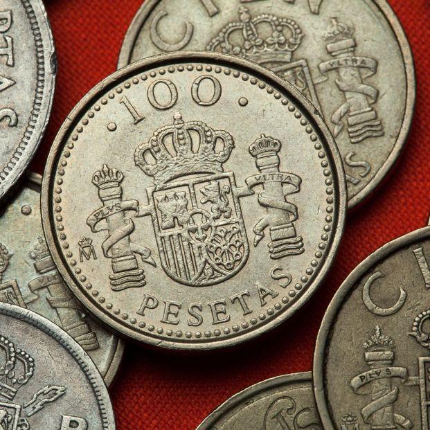 Cambiar pesetas por euros