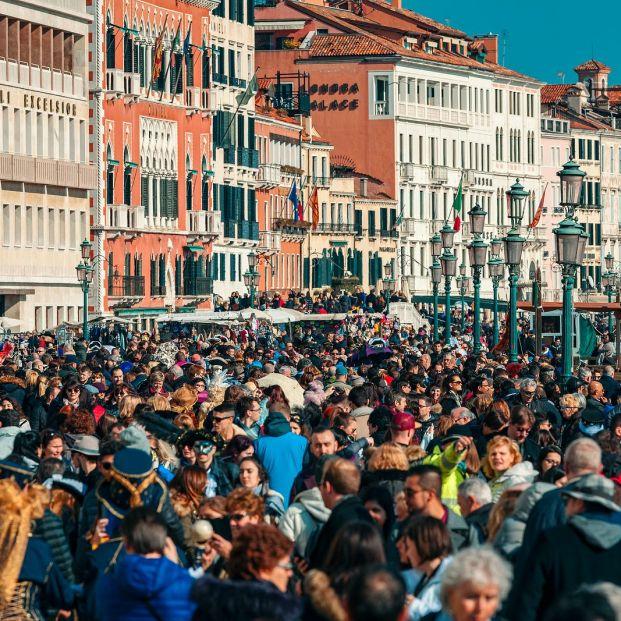 Venecia y el turismo de masas