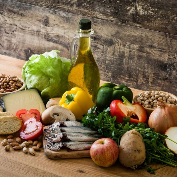 Dieta mediterránea (Bigstock)